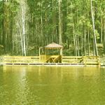 Отдых на воде в беседке на Калиновке